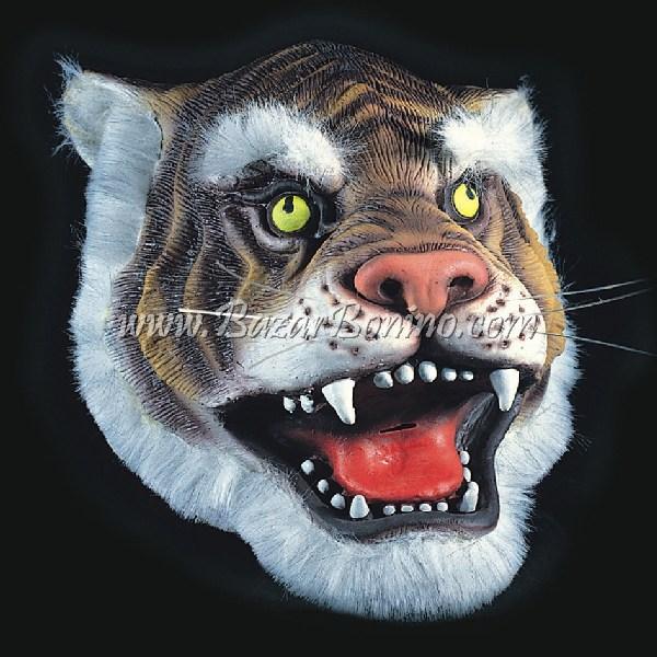 AM0030 - Maschera Tigre Gomma