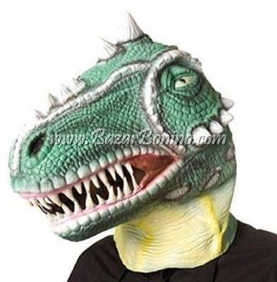 AM0060 - Maschera Dinosauro Gomma-Lattice