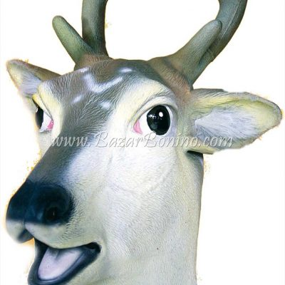 AM0070 - Maschera Cervo Gomma