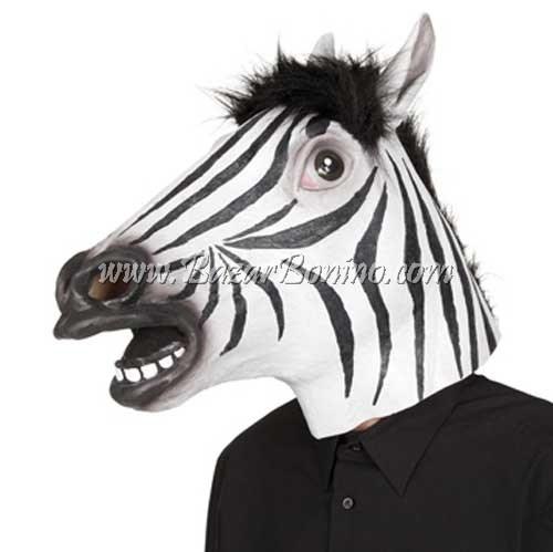 AM0080 - Maschera Zebra Gomma