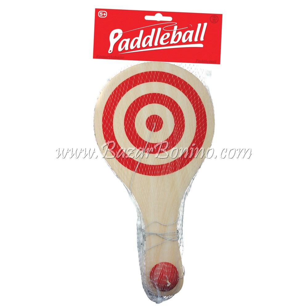 "EJ0220 - RACCHETTA CON PALLINA ED ELASTICO ""PADDLE BALL"""