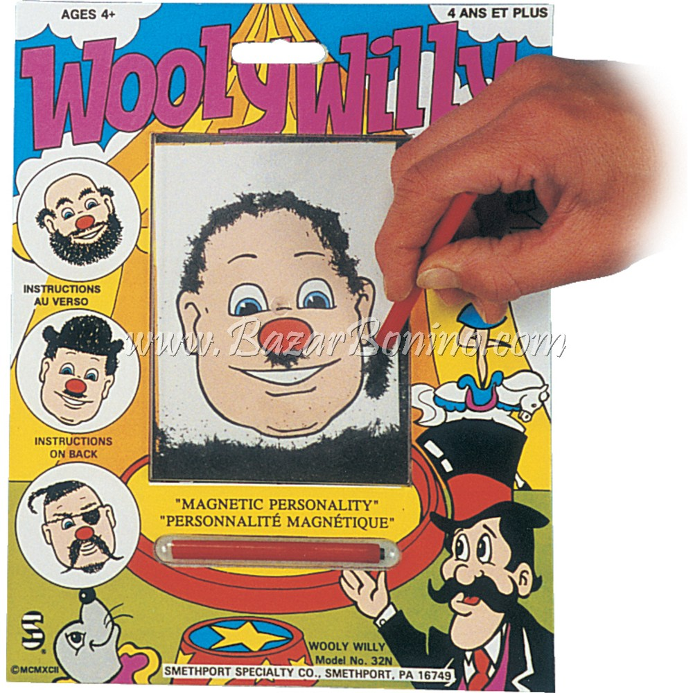 JR0040 - WOOLY WILLY