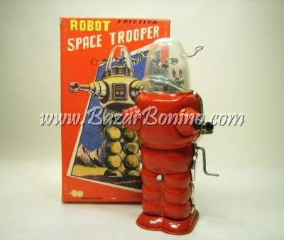 RT0180 - SPACE TROOPER in latta carica a frizione