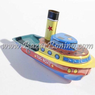 """TB0060 - Barchetta Latta Rimorchiatore Pop Pop """"Tug Boat"""""""