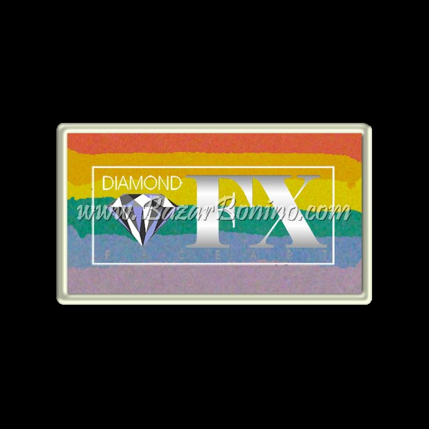 04 Blurred - SPLIT CAKES Medium size Diamond Fx