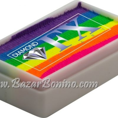 07 Neon Nights SPLIT CAKES Medium size Diamond Fx
