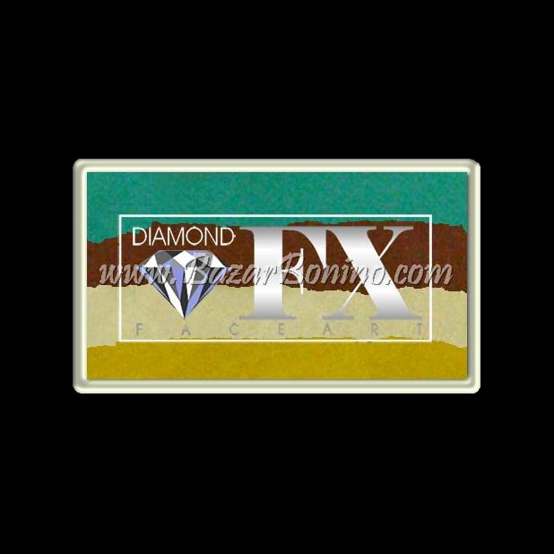 19 Aqua Mania SPLIT CAKES Medium size Diamond Fx