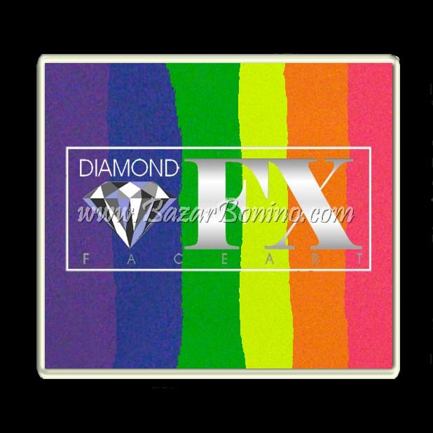 07 Neon Nights SPLIT CAKES Big size Diamond Fx