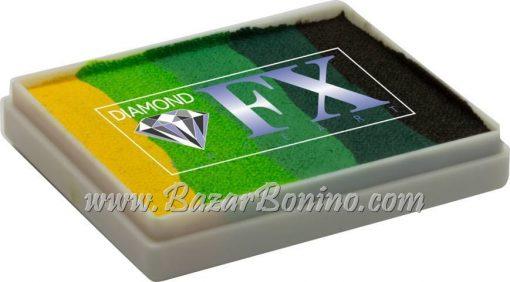 08 Green Carpet SPLIT CAKES Big size Diamond Fx