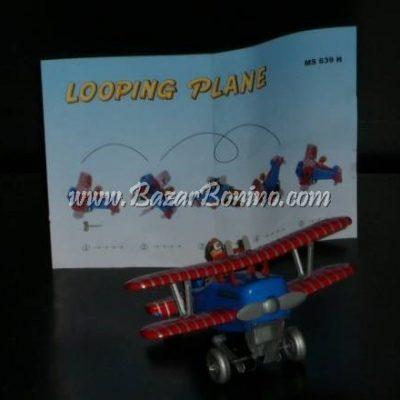 "AN0030 - AEREO BIPLANO ""LOOPING PLANE"" in Latta"