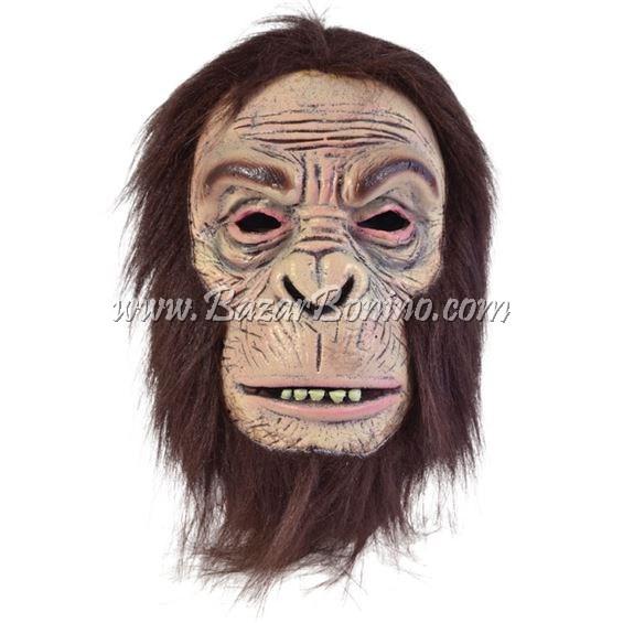 BM0413 - Maschera Scimpanze Lattice Schiumato