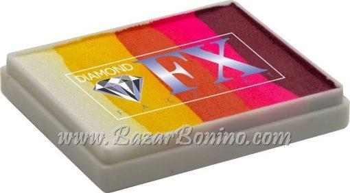 87 Sunset SPLIT CAKES Big size Diamond Fx