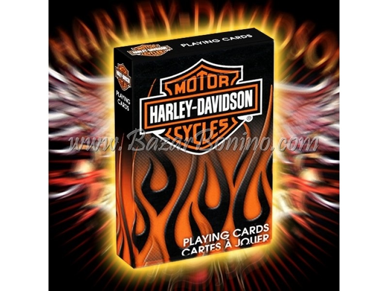 MB0197 - Mazzo Carte Bicycle Harley Davidson Mototr Cycles