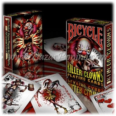 MB0205 - Mazzo Carte Bicycle Killer Clowns