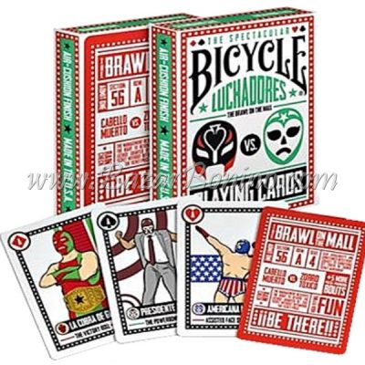MB0210 - Mazzo Carte Bicycle Luchadores