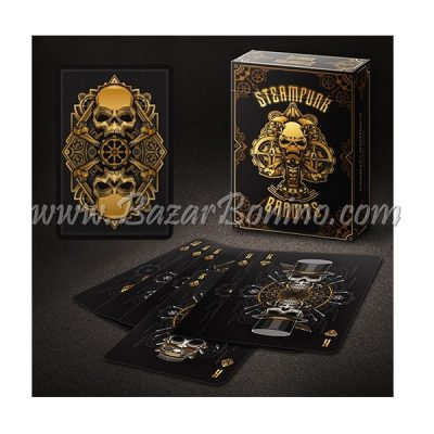 MB0315 - Mazzo Carte Bicycle Steampunk Bandits Black