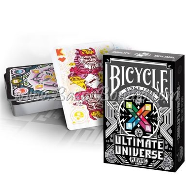 MB0335 - Mazzo Carte Bicycle Ultimate Universo Black