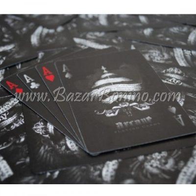 ME05 - Mazzo Carte Bicycle Arcane Black