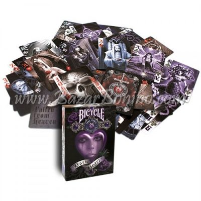 MB0060 - Mazzo Carte Bicycle Anne Stokes Dark Hearts