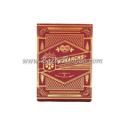 MTY002 - Mazzo Carte Monarchs Red