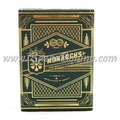 MTY003 - Mazzo Carte Monarchs Green