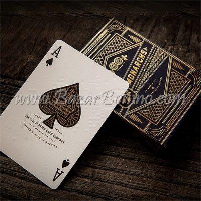 MTY001 - Mazzo Carte Monarchs Black