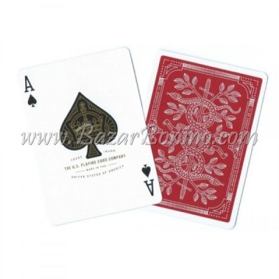 MTY002 - Mazzo Carte Monarchs Red