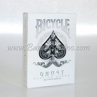 MTY035 - Mazzo Carte Ghost White by Ellusionust