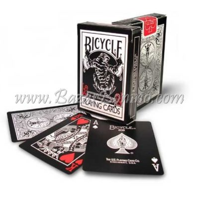 MTY040 - Mazzo Carte Bicycle Black Deck Tiger Red