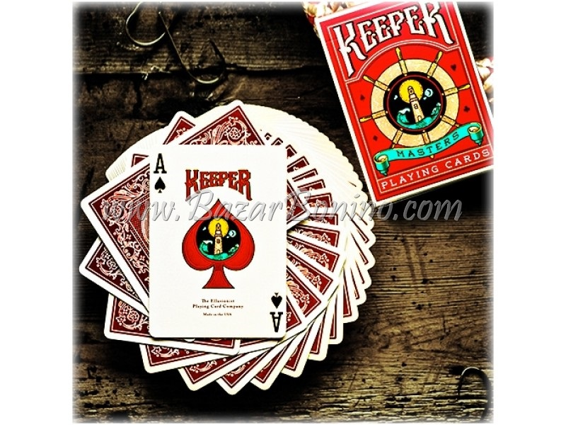 MTY065 - Mazzo Carte Keeper Red - Marcato