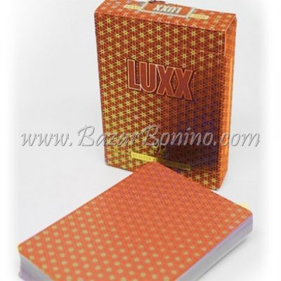 MV0080- Mazzo carte Luxx Elliptica Red