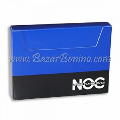 MV0100- Mazzo Carte Noc v3 Blu