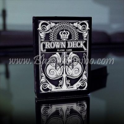 MV0120- Mazzo Carte Black Crown