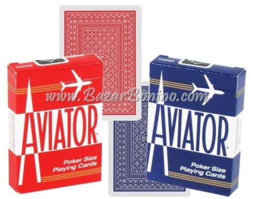 MV0180 - Mazzo Carte Aviator Standard