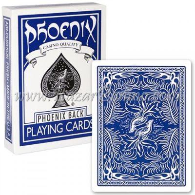 MV0200 - Mazzo Carte Phoenix Blu