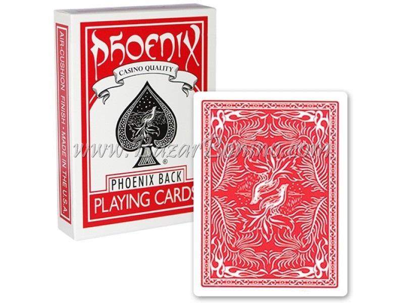 MV0205 - Mazzo Carte Phoenix Rosso