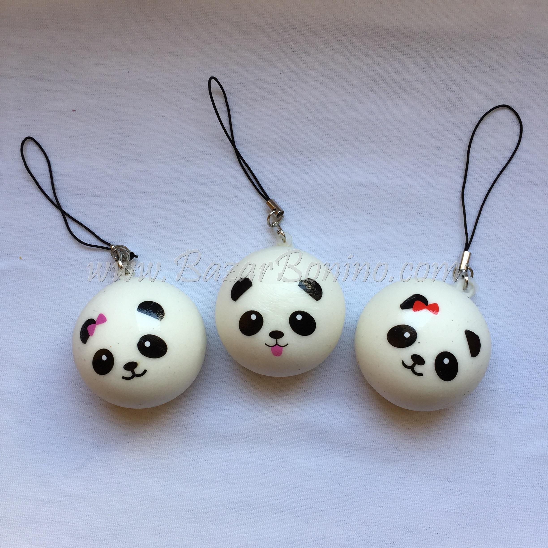 SY01 - Squishy Panda Portachiavi