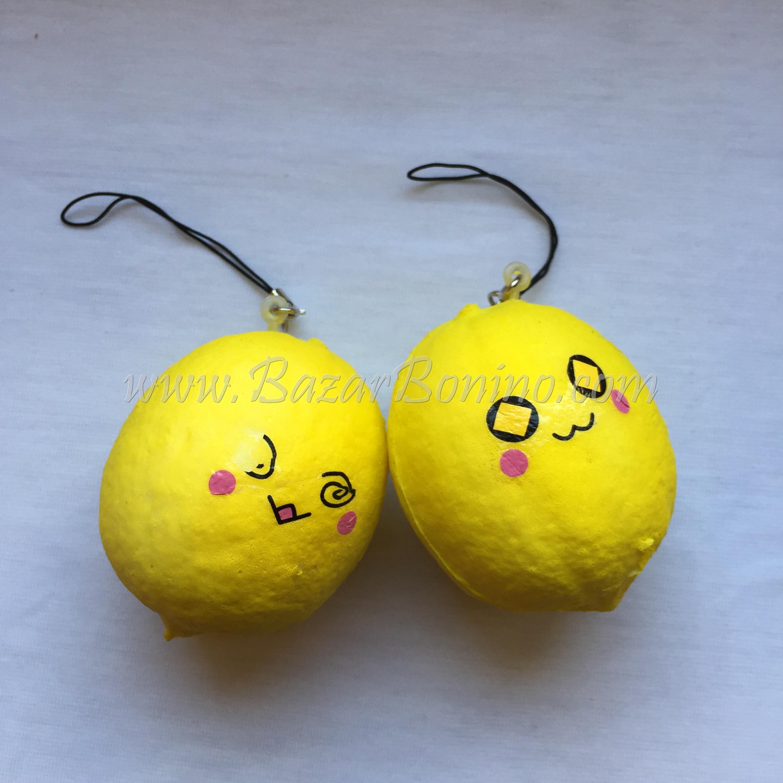 SY55 - Squishy Limone Portachiavi