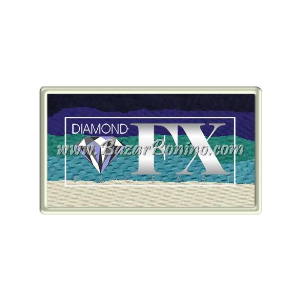 62 - Calm Ocean SPLIT CAKES Medium size Diamond Fx