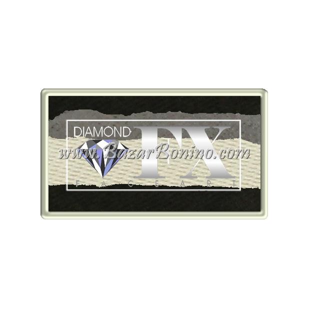 64 - Skull SPLIT CAKES Medium size Diamond Fx