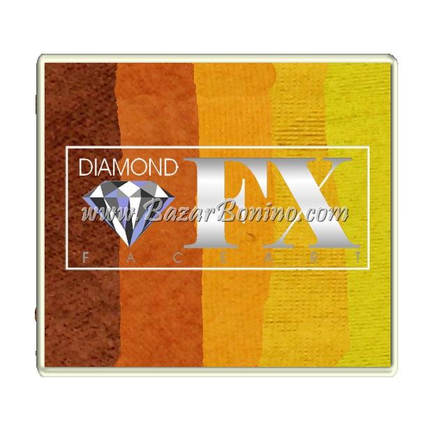 78 - Wild Cheetah SPLIT CAKES Big size Diamond Fx