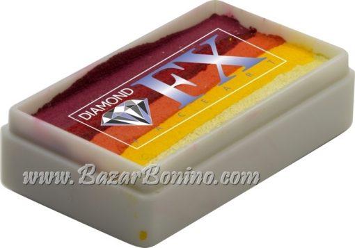105 - Sunset CAKES Medium size Diamond Fx