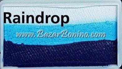 115 - Raindrop CAKES Medium size Diamond Fx