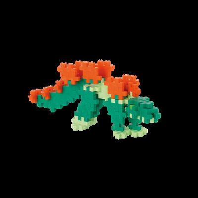 Plus-Plus Stegosauro Midi Tube 100 pz. - 4093