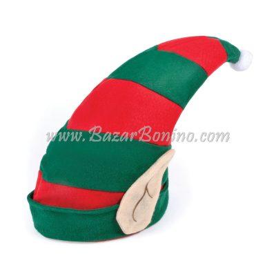 BH521 - Cappello Aiutante Babbo Natale con Orecchie