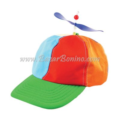 BH649 - Cappello Clown Elicottero