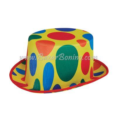 BH702 - Cilindro Clown a Pois