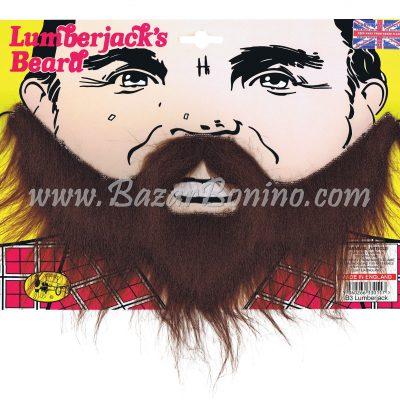 MB002 - Barba Castana Lumberjack
