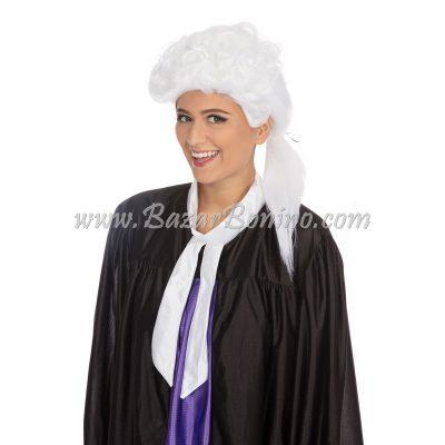 WGBW353 - Parrucca Corte Tribunale Bianca