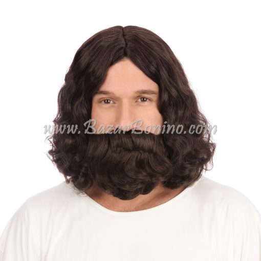 WGBW581 - Parrucca Barba Hippy Jesus